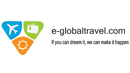 E-global Travel Logo