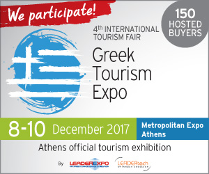 We Participate in Greek Tourismo Expo 2017